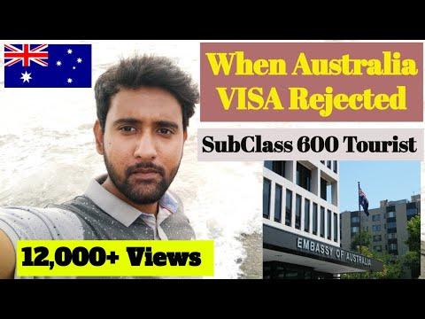 When Australia VISA Rejected? Subclass 600 Tourist Refusal Letter