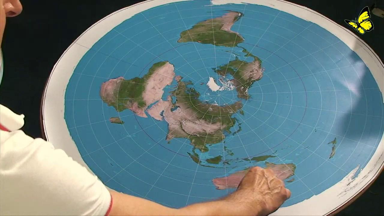 Flache Erde Karte Kaufen.Flat Earth Flache Erde Spezial