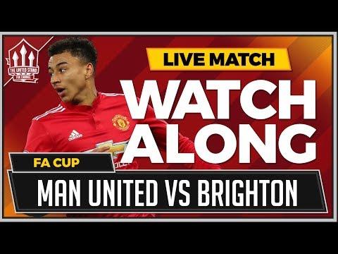 Manchester united vs brighton live stream watchalong