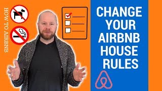 Gambar cover How to change your Airbnb House Rules (2018)