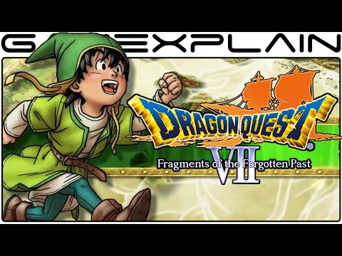 20 Minute Tour of Dragon Quest VII: Fragments of the Forgotten Past (Preview - 3DS)