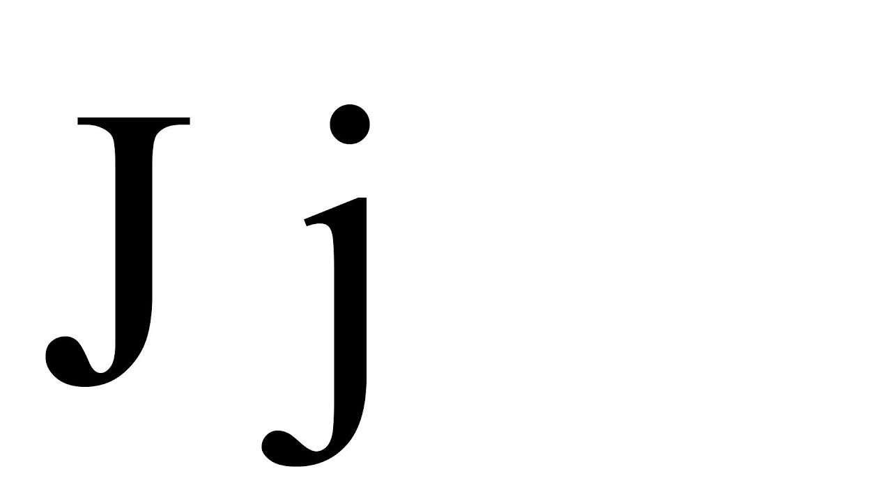 Nauka Literek Dla Dzieci Po Polsku Litera J Minicopl 1080p