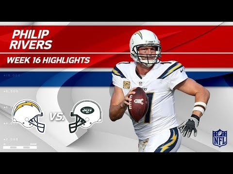 Philip Rivers Highlights | Chargers vs. Jets | NFL Wk 16 Player Highlights