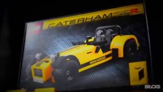 inside the lego 21307 caterham seven 620r