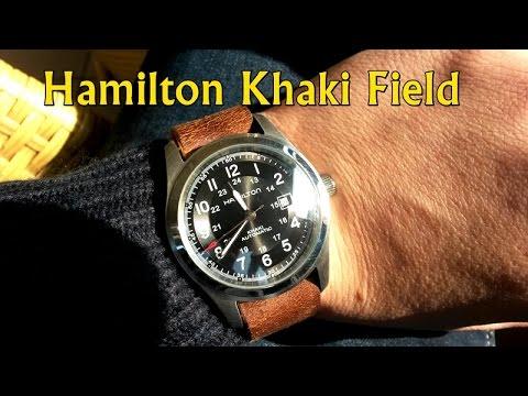 294ae5f05 The Perfect Everyday Watch: Hamilton Khaki Field Automatic - YouTube