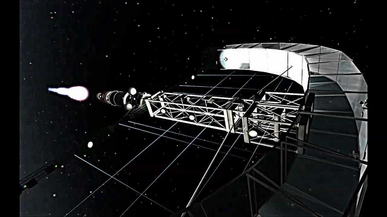 how to create a space station kerbal space program