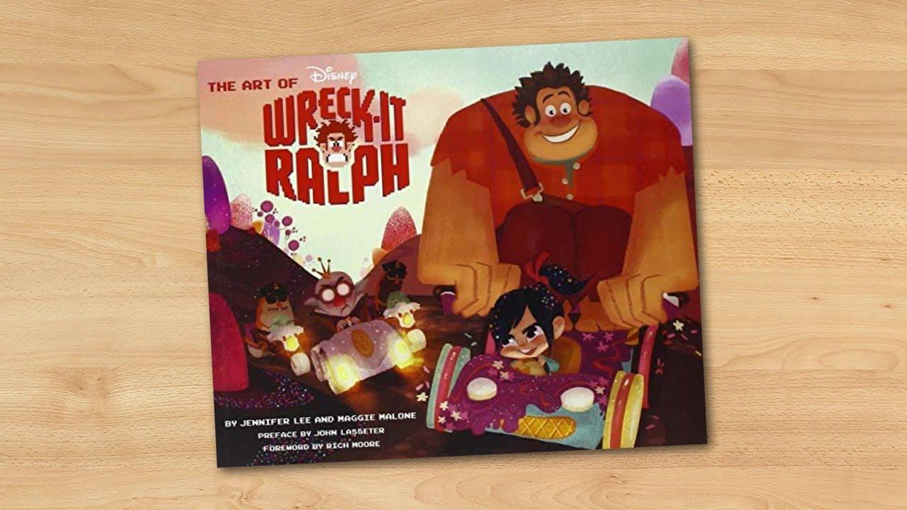 100 Photos of Art Of Wreck It Ralph Book