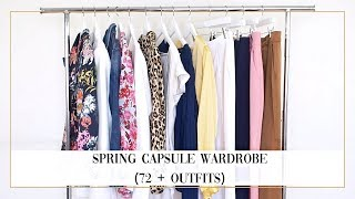 SPRING CAPSULE WARDROBE: tips from a stylist