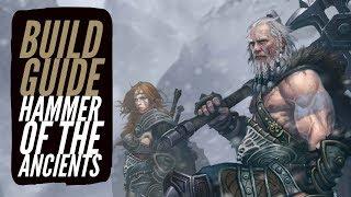 Скачать Diablo 3 Hammer Of The Ancients Barbarian Build Guide TOP TIER