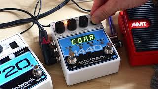 Electro Harmonix 1440 Stereo Looper ~ Live Looping Ambient Demo
