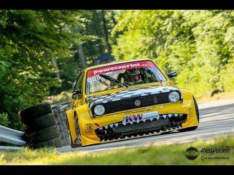 VW Polo II 1.4 Supercharger 16V - Peter Naumann - Wolsfelder Bergrennen  2014