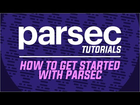How To Get Started With Parsec - Parsec Tutorials - YouTube