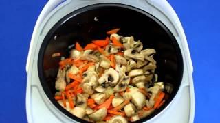Рецепт приготовления перловой каши с грибами в мультиварке VITEK VT-4215 BW