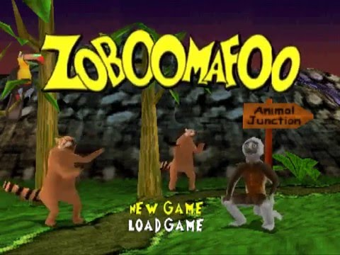 Zoboomafoo Game PS1 - Zoboomafo...