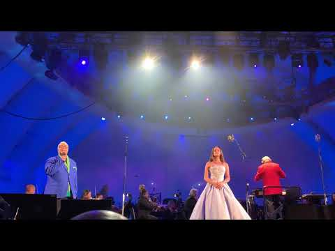 """Lea Michele, Leo Gallo, Ken Page, & Peter Gallagher sing """"If Only"""" Little Mermaid at Hollywood Bowl Mp3"""