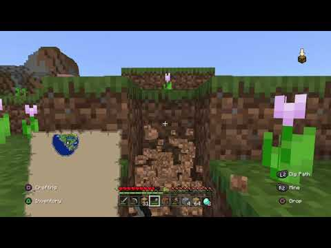 Minecraft Survival 2 Building My House Part 1 Youtube