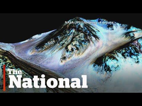 Liquid water found on Mars's surface