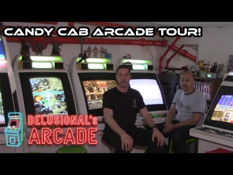 Candy Cab home arcade tour [Walkthrough & gameplay]