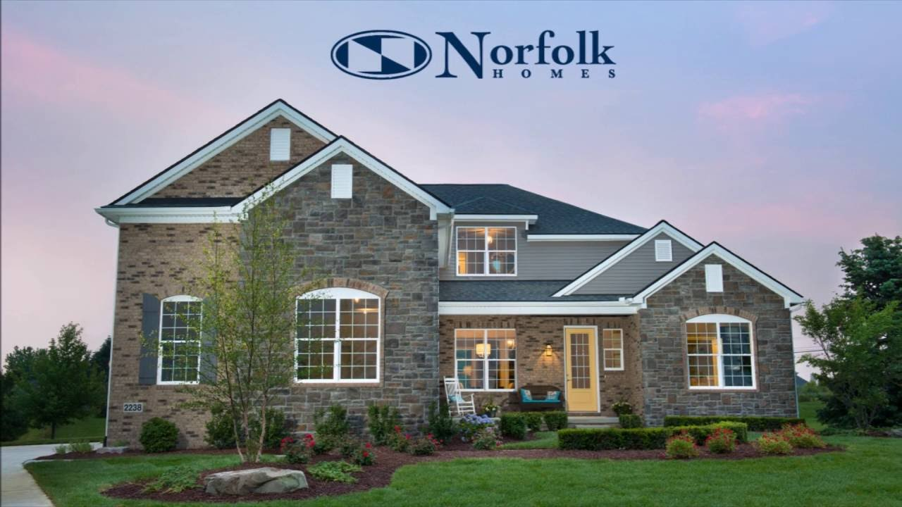 custom designed homesnorfolk homes - youtube