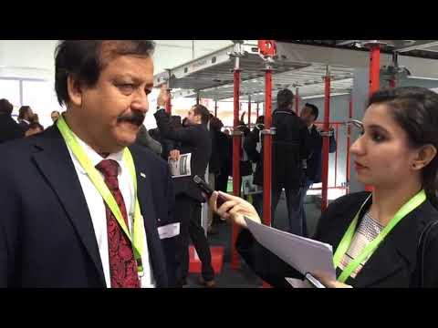 CW interviews Raj Lakhani, MD, Peri India speaks to Construction World at bauma CONEXPO INDIA 2018