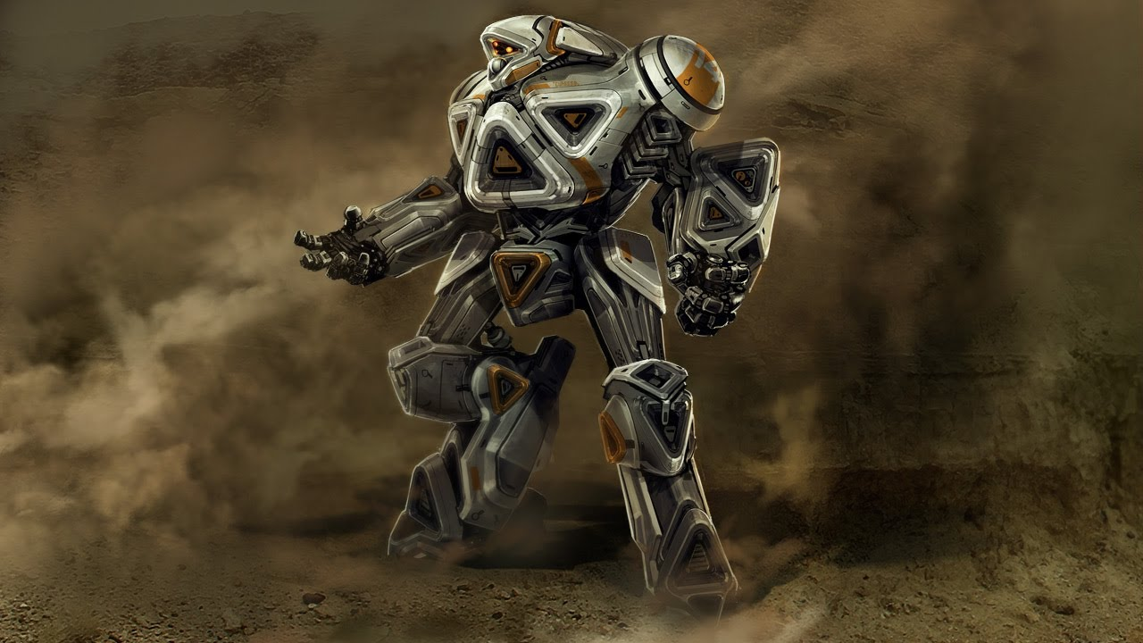 New photoshop tutorial released kit bashing a mech soldier new photoshop tutorial released kit bashing a mech soldier concept in photoshop youtube baditri Image collections