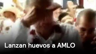 AMLO es atacado con huevos - AMLO - En Punto con Denise Maerker thumbnail