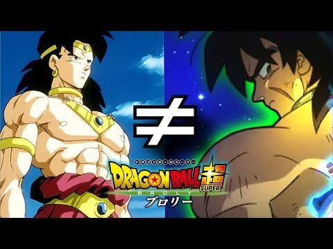 The NEW Broly! Dragon Ball Super Movie 2018