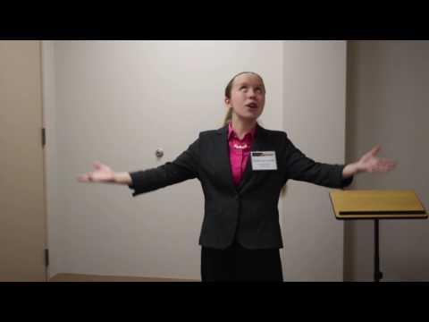 Rachel Van Leuven Organic Food Speech