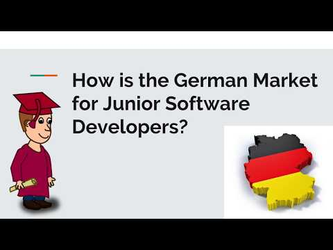 How Is The German Market For Junior Software Developers?