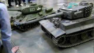 Радиоуправляемые Танки World of Tanks(Радиоуправляемые танки у стенда World of Tanks ИгроМир 2012. Москва, Крокус Экспо, павильон №1., 2012-10-09T18:08:44.000Z)