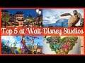 Top 5 Attractions at Walt Disney Studios | Disneyland Paris