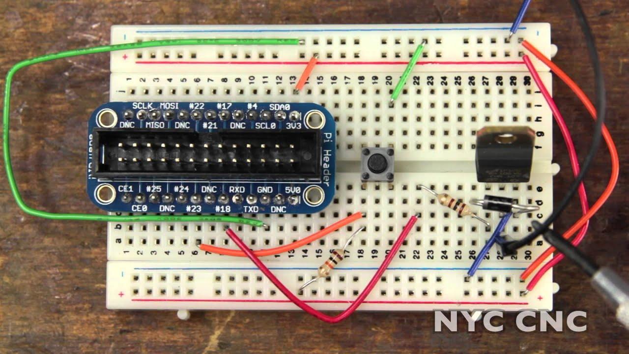Maxresdefault on Raspberry Pi Motor Control Transistor