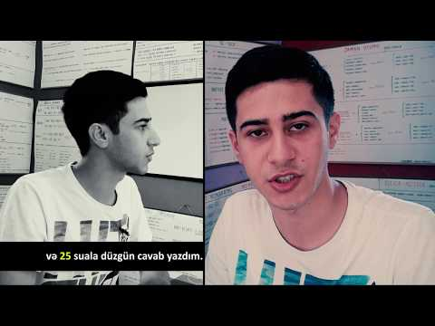 İngilis Dili / Qebul İmtahanı / İbrahim Memmedli / 25 düz cavab!