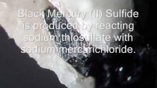 Mercury (II) Sulfide