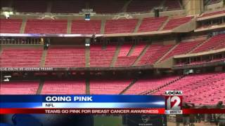 NFL goes pink for Breast Cancer Awareness Mont