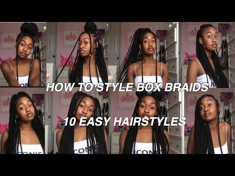 how-to-style-box-braids-|-10-box-braid-hairstyles-|-briana-gabrielle