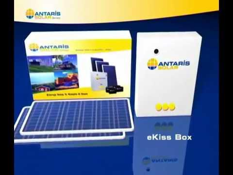 "The eKiss Garden Cabin Solar Power Kit system. Garden rooms, Out Buildings, Garage. ""eKis"""