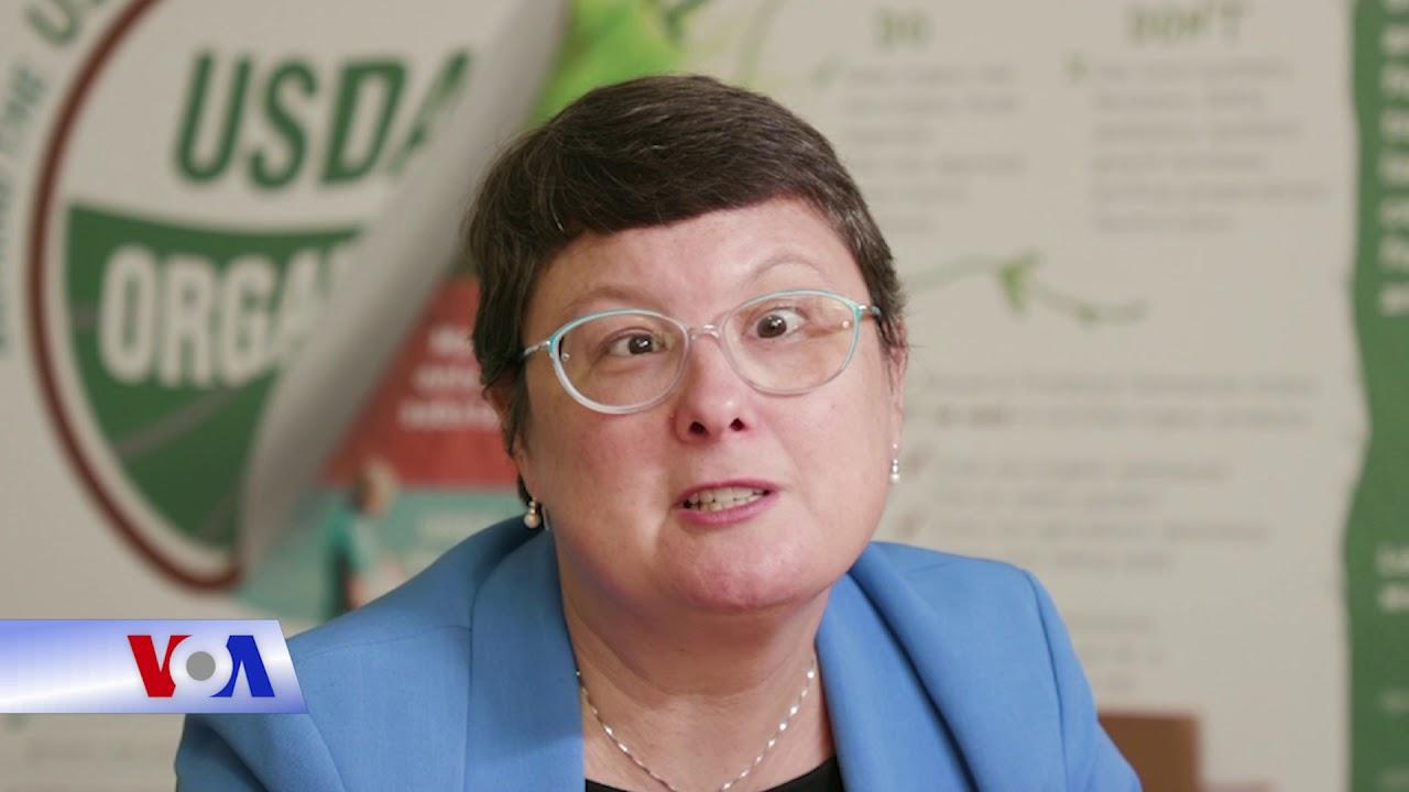 Sản phẩm nông nghiệp hữu cơ tại Mỹ (VOA)