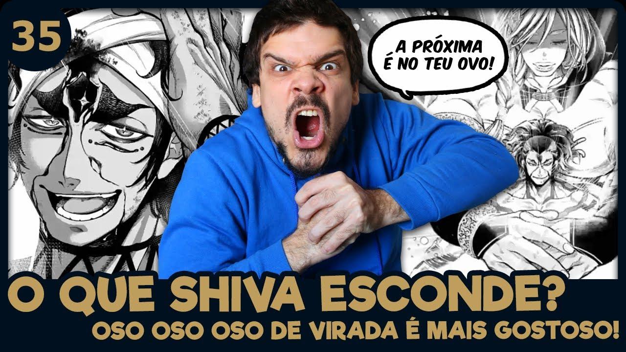 RAIDEN BRUTAL E O PODER OCULTO DE SHIVA (Shuumatsu no Valkyrie 35   Mangá Reaction)