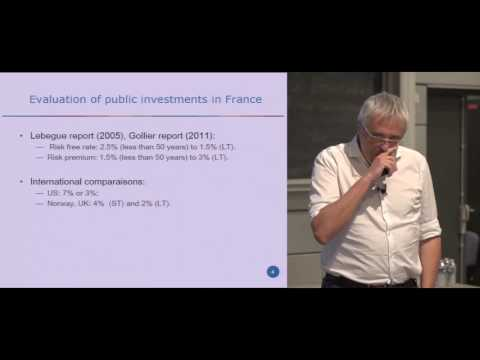 """""""An Economic Evaluation of our Responsibilities Towards Future Generations"""" Christian Gollier (TSE)"""