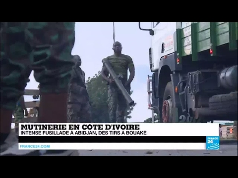 Mutinerie en Côte d'Ivoire - Tirs nourris, barrages dressés : Regain de tension à Abidjan
