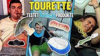 Tourette testet die verrücktesten Wish Produkte! Auf Wish bestellt... + Gewinnspiel!