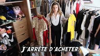 J'ARRÊTE D'ACHETER.