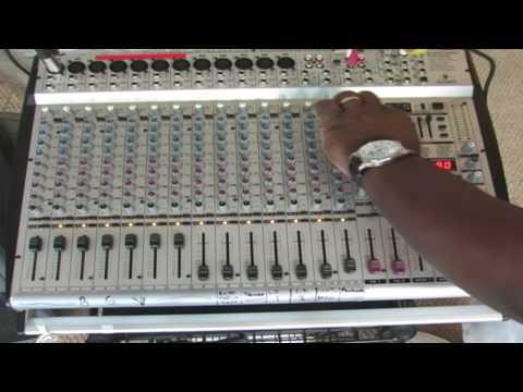 TRC Audio Training - Behringer PMH5000 mixer