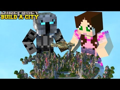 Minecraft: SELF BUILDING CITY! (OFFICE, BULLDOZER, BAKERY, MINE, & MORE!) Mod Showcase