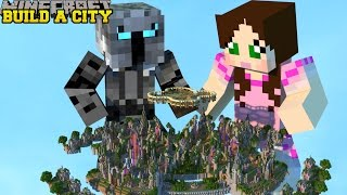 Minecraft: SELF BUILDING CITY! (OFFICE, BULLDOZER, BAKERY, MINE, & MORE!) Mod Showcase