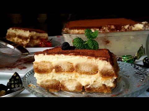 Tiramisú fácil (tarta sin horno)