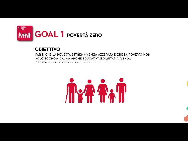 SDG's Goal 1: Povertà Zero