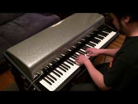 """1966 Fender Rhodes Silver-top Suitcase Piano, """"Lady Day And John Coltrane"""""""