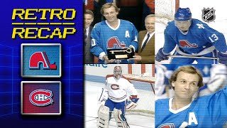 Lafleur's Fitting Farewell | Retro Recap | Nordiques Vs Canadiens